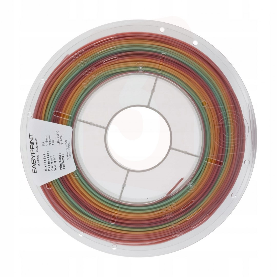 Rainbow Neon EasyPrint PLA 1.75 mm