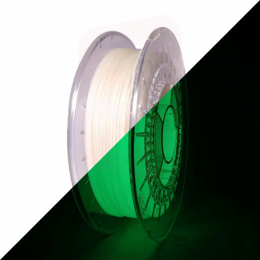 Rosa filament PLA Starter 1,75mm 0,8kg Glow in the Dark Green
