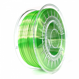 Filament Silk PLA 1.75 mm Devil Design 1 kg Jasnozielony